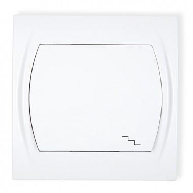 Łącznik schodowy Karlik LOGO LWP-3 biały