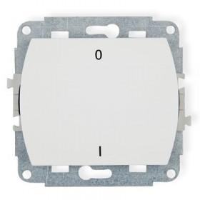 Mechanizm łącznika dwubiegunowego Karlik TREND WP-9 biały