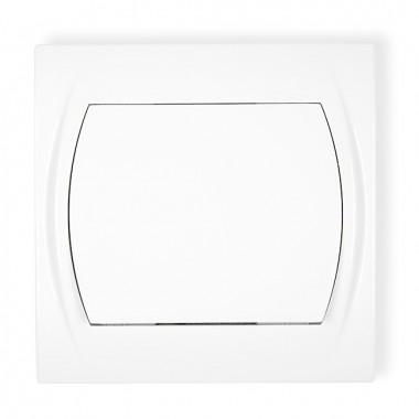Łącznik jednobiegunowy Karlik LOGO LWP-1 biały