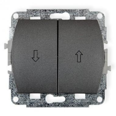 Mechanizm łącznika żaluzjowego Karlik TREND 11WP-8 grafitowy