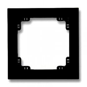 Ramka uniwersalna pojedyncza Karlik DECO 12DR-1 czarny mat