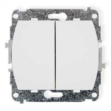 Mechanizm łącznika świecznikowego  Karlik TREND WP-2 biały