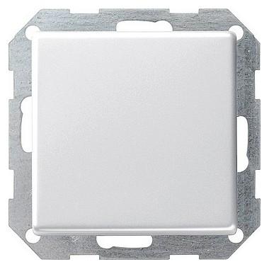 Łącznik przyciskowy przełączalny Gira E22 biały 0121201
