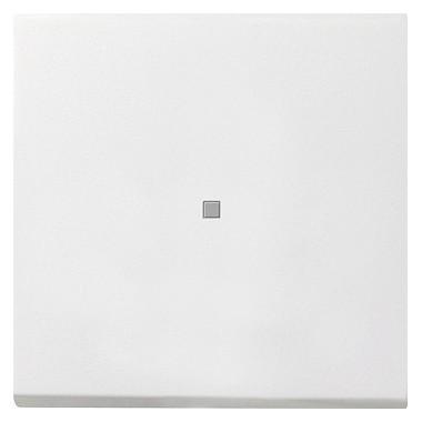 Łącznik przyciskowy wyłącz 2bieg. kontr Gira F100 biały 0122112