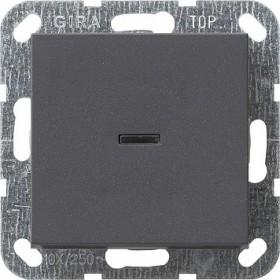Łącznik przyciskowy wyłącz 2bieg. kontr System 55 antracytowy 012228