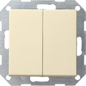 Łącznik przyciskowy Wył. świecznikowy System 55 kremowy 012501