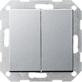 Łącznik przyciskowy Wył. świecznikowy System 55 kolor aluminiowy 012526