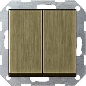 Łącznik przyciskowy Wył. świecznikowy System 55 brąz 0125603