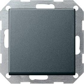 Łącznik przyciskowy przełączalny System 55 antracytowy 012628