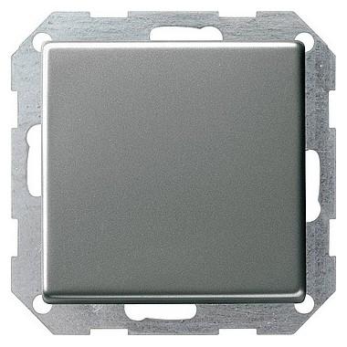 Przycisk kołyskowy przełączalny Gira E22 naturalny stalowy 013020