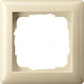 Ramka pojedyncza Standard 55 kremowy 021101