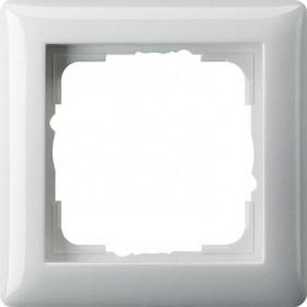 Ramka pojedyncza Standard 55 biały 021103