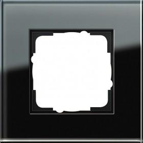 Ramka pojedyncza Gira Esprit Szkło czarne 021105