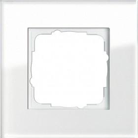 Ramka pojedyncza Gira Esprit Szkło białe 021112