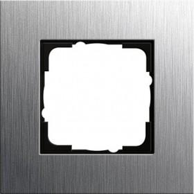 Ramka pojedyncza Gira Esprit naturalny stalowy 0211219