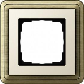 Ramka pojedyncza ClassiX brąz-kremowy 0211623