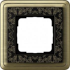 Ramka pojedyncza ClassiX Art brąz-czarny 0211662