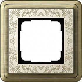 Ramka pojedyncza ClassiX Art brąz-kremowy 0211663