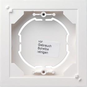 Obudowa nt. pojedyncza płaska Standard 55 biały matowy 021904