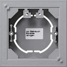 Obudowa nt. pojedyncza płaska System 55 kolor aluminiowy 021926