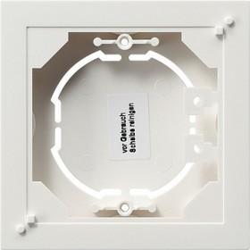 Obudowa nt. pojedyncza płaska System 55 biały 021929
