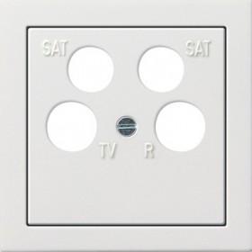 Osłona poczw. fuba ECG Astro Gira F100 biały 0259112