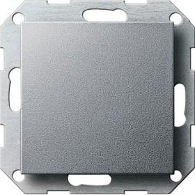 Zaślepka z płytką moc. System 55 kolor aluminiowy 026826