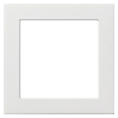 Ramka pośrednia 50x50 kwadratowa Gira F100 biały 0282112