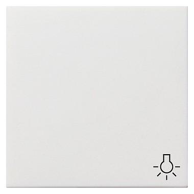 Klawisz symbol światła Gira F100 biały 0285112
