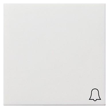 Klawisz symbol dzwonka Gira F100 biały 0286112