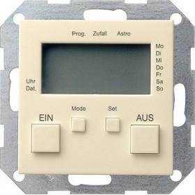 Zegar sterowniczy System 55 kremowy 038501