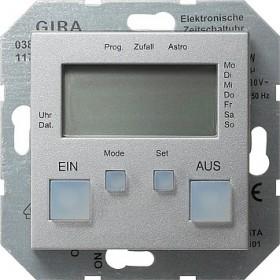 Zegar sterowniczy System 55 kolor aluminiowy 038526