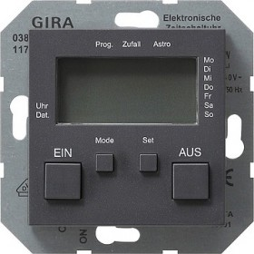 Zegar sterowniczy System 55 antracytowy 038528