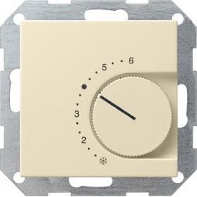 Reg. temp. 230 V styk rozwierny System 55 kremowy 039001