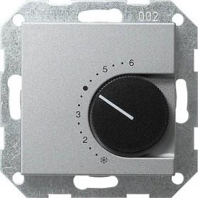 Reg. temp. 230 V styk rozwierny System 55 kolor aluminiowy 039026