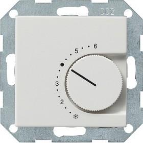 Reg. temp. 24 V styk rozwierny System 55 biały 039103