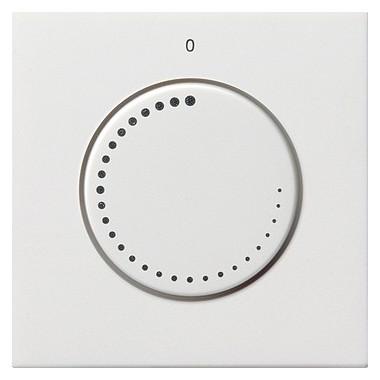 Osłona Regulator obrotów Gira F100 biały 0652112