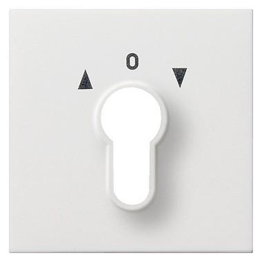 Osłona wył. na klucz Gira F100 biały 0664112