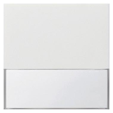 Klawisz z dużym polem opis. Gira F100 biały 0676112