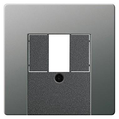 Osłona TAE+stereo+USB Gira E22 naturalny stalowy 087620