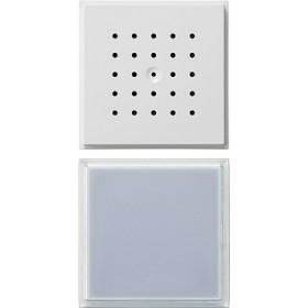 Bramofon podtynkowy pojedyncza Gira TX_44 (IP44) biały 126066
