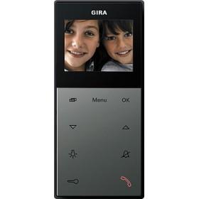 Unifon wideo AP Gira E22 kolor nat. stalowy 127920