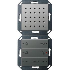 Unifon Gira E22 naturalny stalowy 128020
