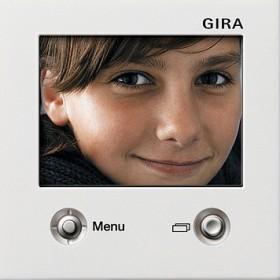 Wyświetl. TFT Gira F100 biały 1286112