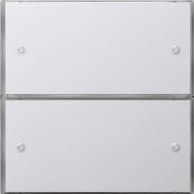 KNX Czuj przycisk 3 Bazowy podwójny Gira F100 biały 2022112