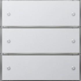 KNX Czuj przycisk 3 Bazowy potrójny Gira F100 biały 2023112