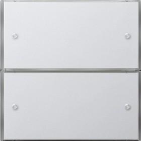 KNX Czuj przycisk 3 Komfort podwójny Gira F100 biały 2032112