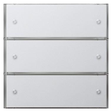 KNX Czuj przycisk 3 Komfort potrójny Gira F100 biały 2033112