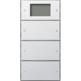 Czujn.przyc.3 Plus potrójny (1+2) Gira F100 biały 2043112