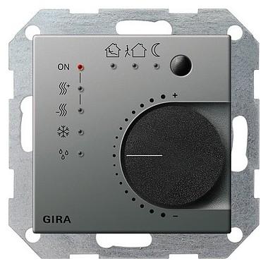 Regulator KNX Gira E22 naturalny stalowy 210020